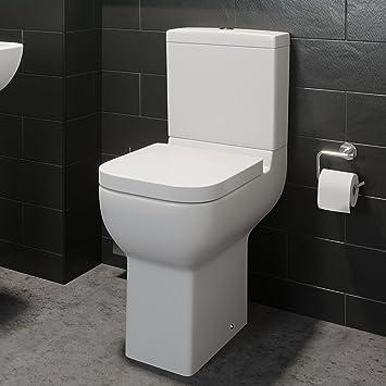 Confort Hauteur surélevée Cuvette de WC de salle de bain wc moderne ...