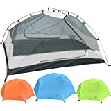 Hyke & Byke Zion Two Person Backpacking Tent with Footprint - Lightweight, Spacious Interior, Compact, and Durable Design