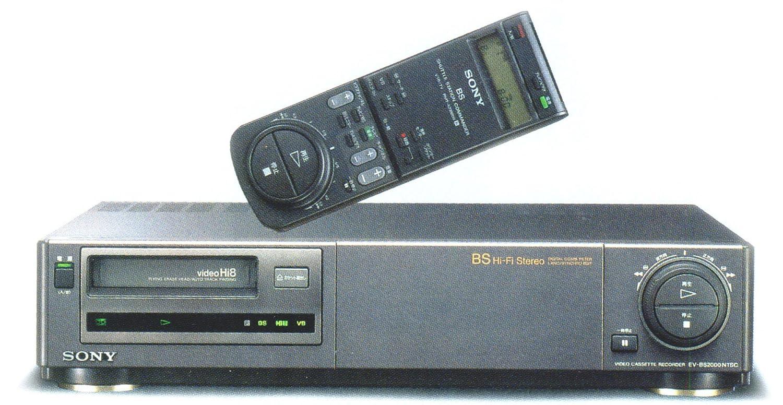 SONY EV-BS2000 Hi8 ビデオデッキ (premium vintage) B003TNKZYQ