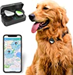 PetFon Pet GPS Tracker, No Monthly Fee, Real-Time Tracking Collar Device,