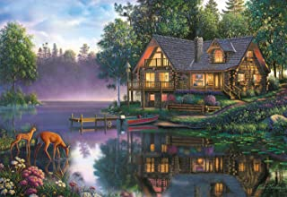 product image for Buffalo Games - Kim Norlien - Cabin Fever - 2000 Piece Jigsaw Puzzle