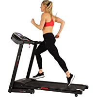Sunny Health & Fitness Electric Treadmill with Auto Incline