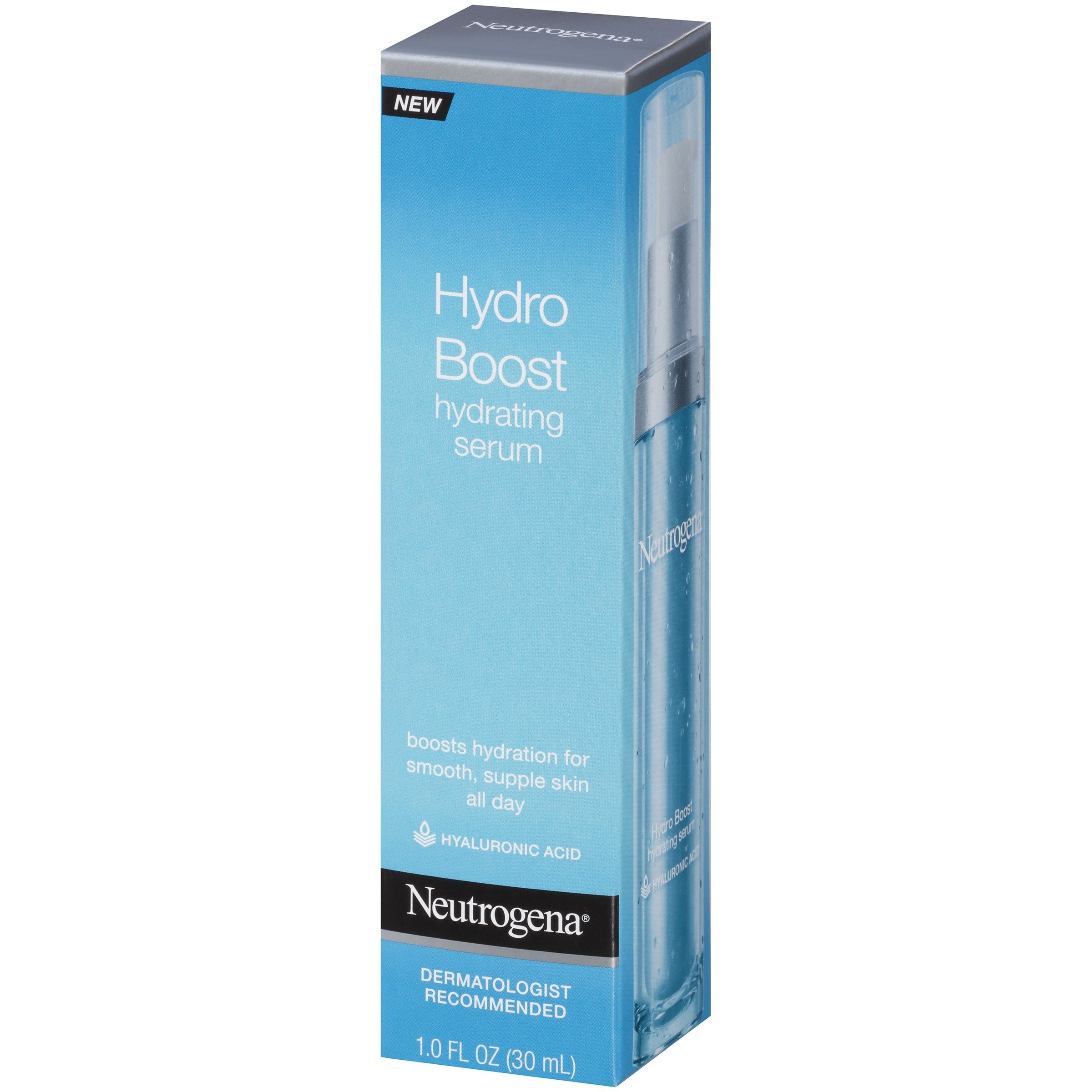 Neutrogena Hydro Boost Hydrating Hyaluronic Acid Serum, Oil-Free and Non-Comedogenic Formula for Glowing Complexion, 1 fl. oz by Neutrogena (Image #3)