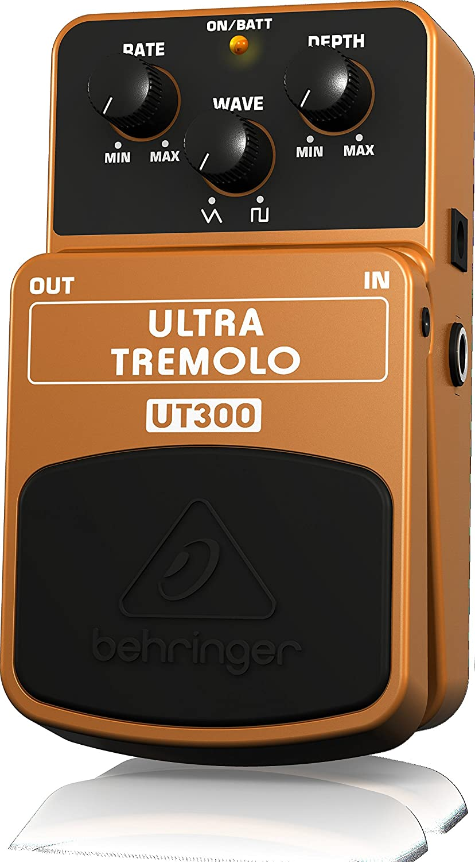 Behringer UT300 - Pedal de efecto vibrato para guitarra, color ...