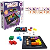 The Genius Square – Game of The Year Award Winner! 60000+ Solutions STEM Puzzle Game! Roll The Dice & Race Your Opponent…