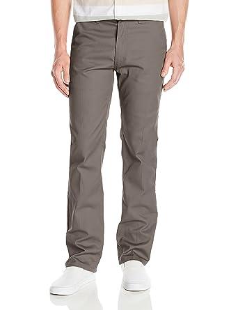 Amazon.com  Brixton Men s Fleet Relaxed Fit Rigid Straight Leg Chino Pant   Clothing ba8fb54399f