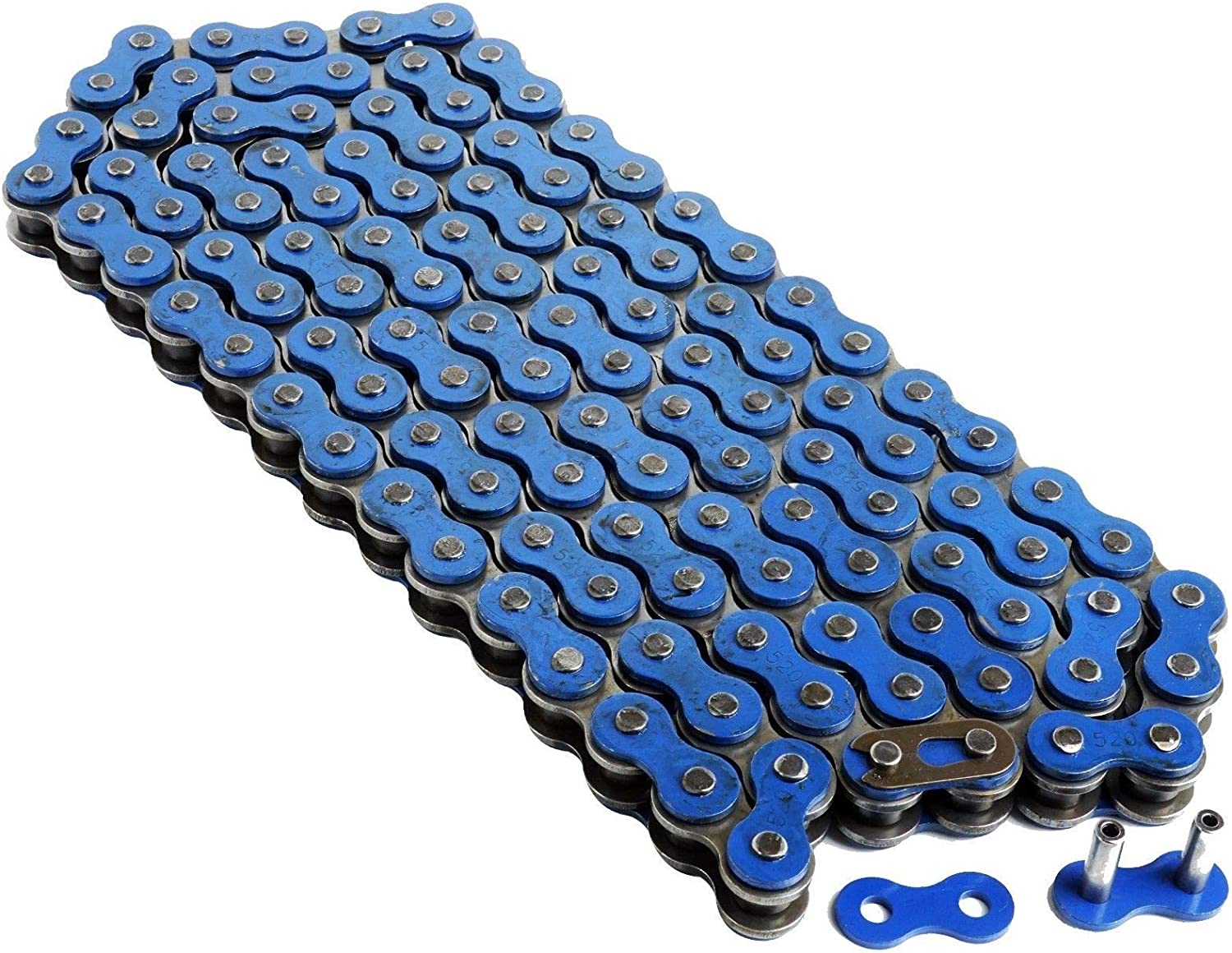 Caltric Drive Chain and Sprockets Kit Compatible with Yamaha Raptor 660 YFM 660R 2001 2002 2003 2004 2005