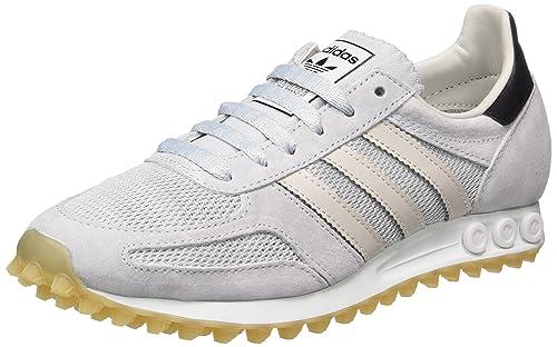 classic fit 8594b 80c6b adidas La Trainer Og, Scarpe da Ginnastica Basse Uomo, Grigio (Clear Pearl  Grey