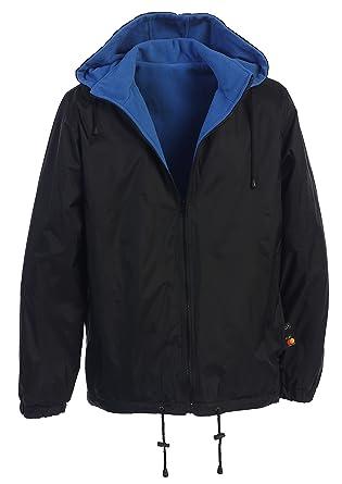 6f00509e6d4b Gioberti Men s Reversible Rain Jacket with Polar Fleece Lining at ...