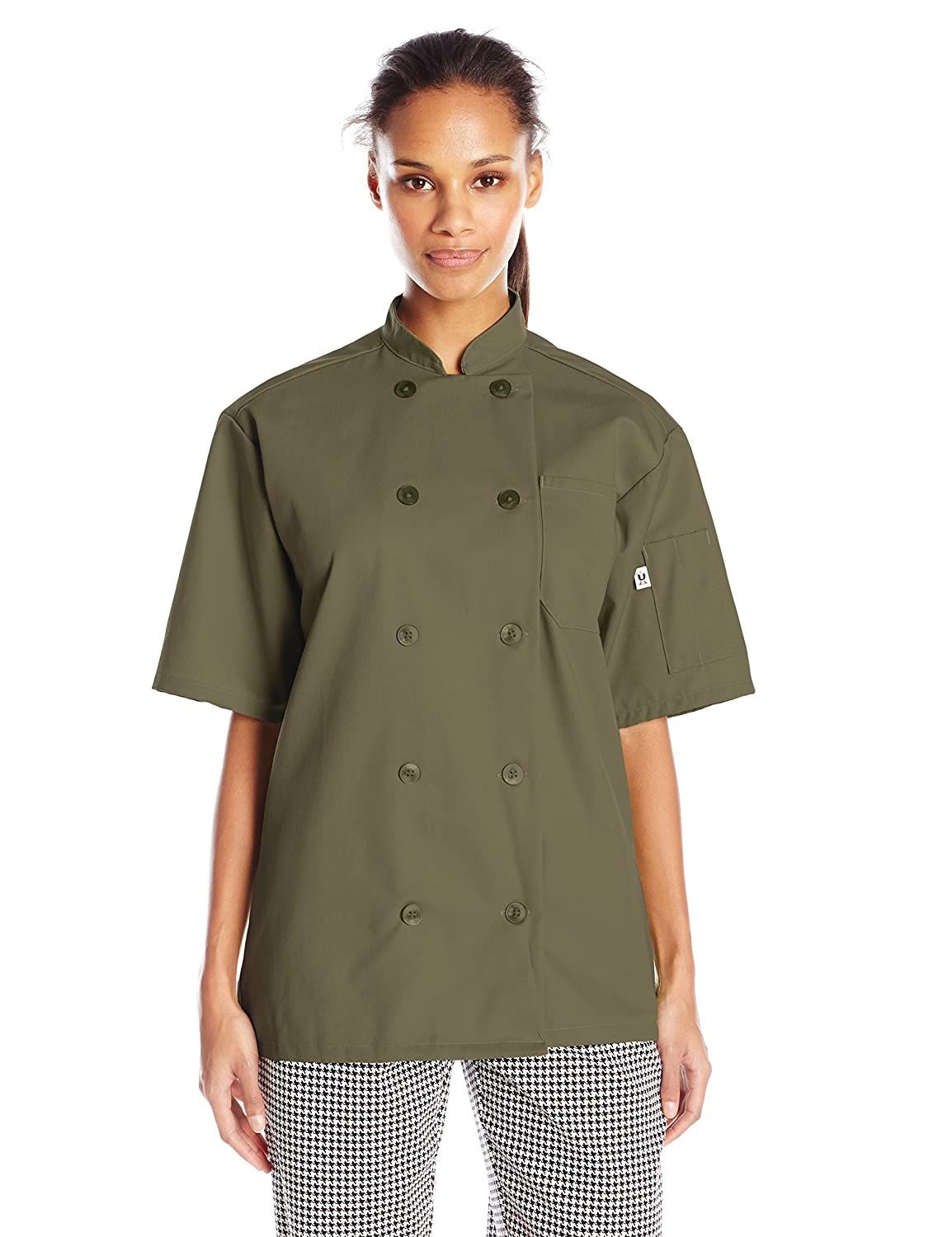 Uncommon Threads South Beach Chef Coat Short Sleeves 0415