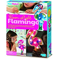 4M- Set Creativo luz de Mesa Flamingo, (00-04743)