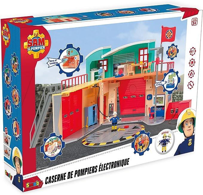 Simba Pompier Sam Méga-Pompiers Station XXL Avec Lumière /& Sound