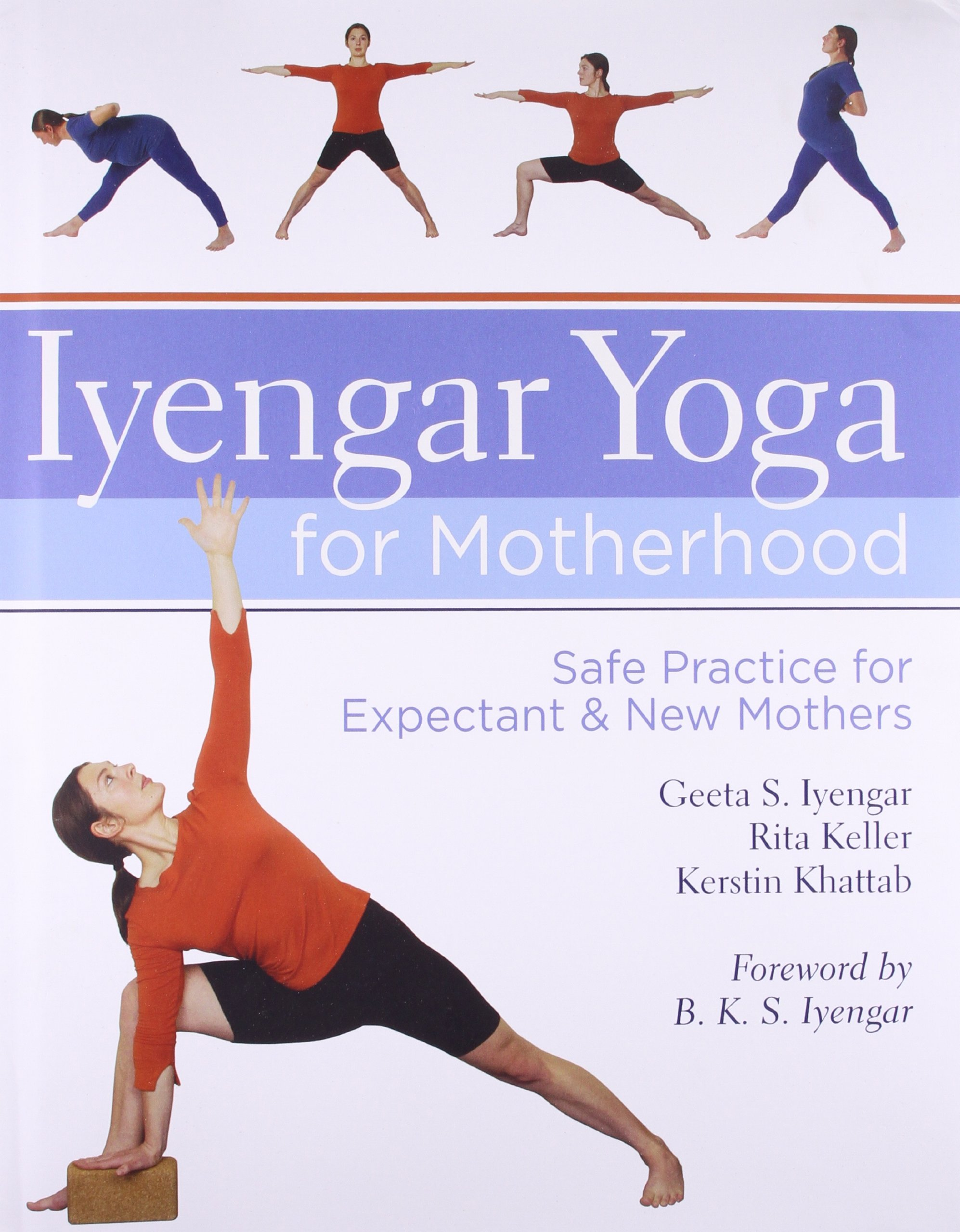 Iyengar Yoga for Motherhood: Safe Practice for Expectant and New ...