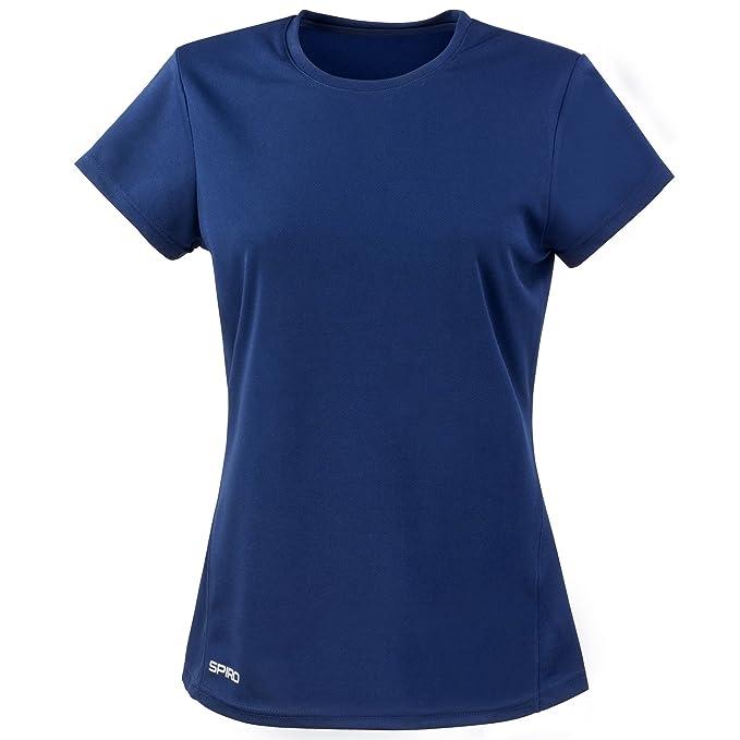 Camiseta Corta Deporte Manga Y Rápido Para Secado Spiro De Chica dUqxAwxI
