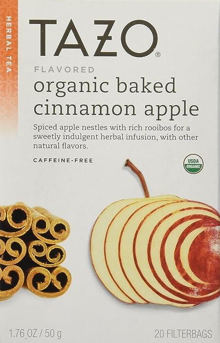 The Best Tazo Organic Baked Cinnamon Apple Infusion