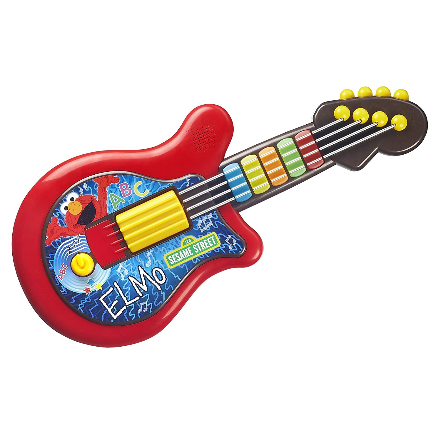 Amazon Playskool Sesame Street Elmo Guitar Toys & Games