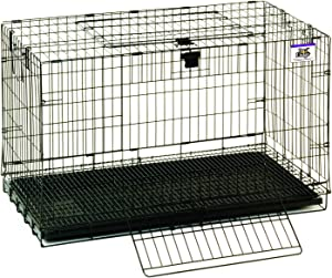 Pet Lodge Medium Rabbit Cage Portable Wire Pop-Up Rabbit Cage w/Easy to Clean Pull Out Floor, Also Great for Other Small Animals (Item No. 150910)