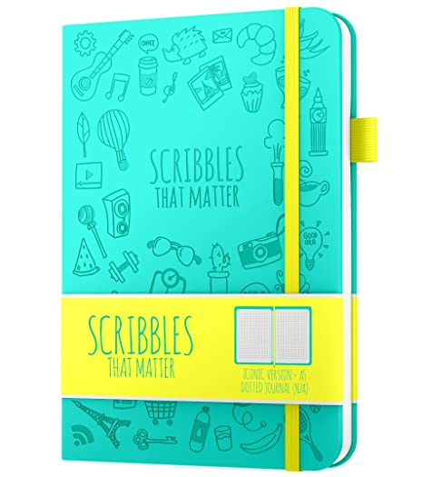 Amazon.com: Scribbles That Matter - Diario con lunares para ...