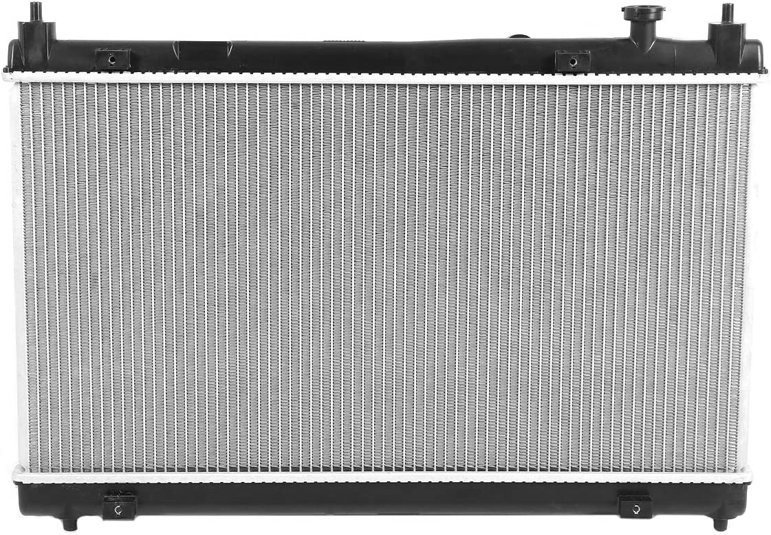 DNA Motoring OEM-RA-13451 13451 Factory Style Aluminum Cooling Radiator Replacement 2015-2019 CITY FIT With Automatic