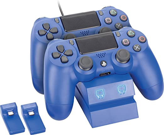 Venom PlayStation 4 Twin Charge Docking Station - Blue - PlayStation 4 [Importación inglesa]: Amazon.es: Videojuegos