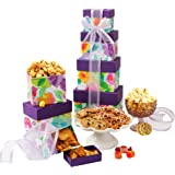 Mothers Day Assorted Sweets and Snacks Gift Tower