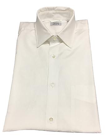 Aspesi Chemise Homme Blanc Avec Poche Modèle Sedici 100% Coton - Blanc, 39- 72458787a816
