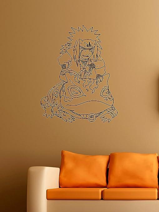 com jiraiya vinyl wall decals the legendary sannin