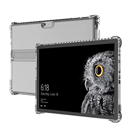 competitive price 96cf8 d6e3b Incipio Octane Pure Case fits both Microsoft Surface Pro (2017) and Surface  Pro 4 - Clear