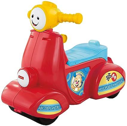 Fisher Price Little People Lernspaß Motorroller Mattel CGT07 Fahrzeug