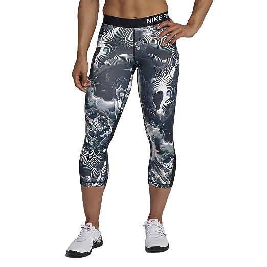 e142aef7 Nike Pro Women's Printed Capri at Amazon Women's Clothing store