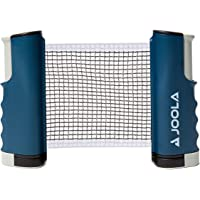JOOLA Retractable Portable Table Tennis Net and Post Set (Adjustable Length) - Play Ping Pong Anywhere
