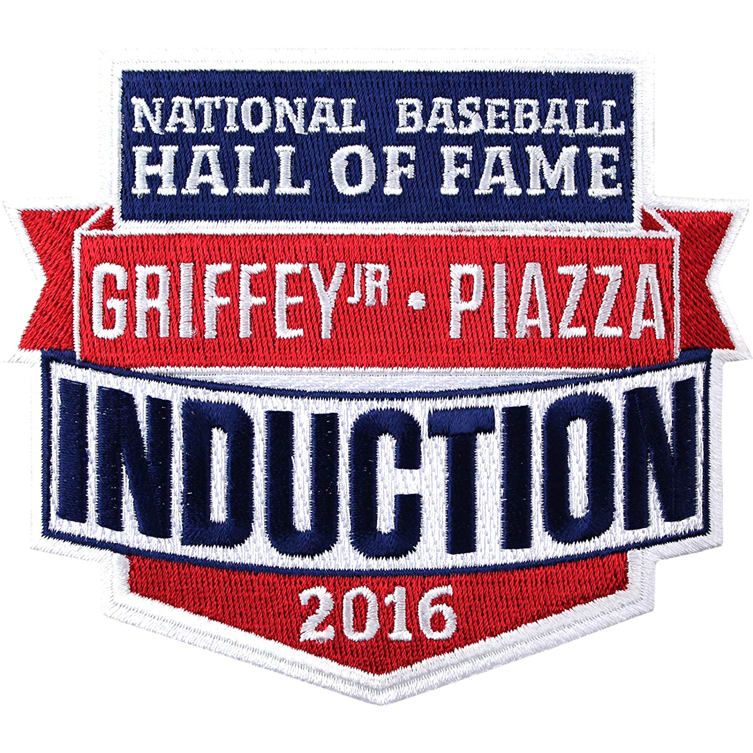 Patch Collection 2016 National Hall of Fame Induction Ft Ken Griffey Jr and Mike Piazza