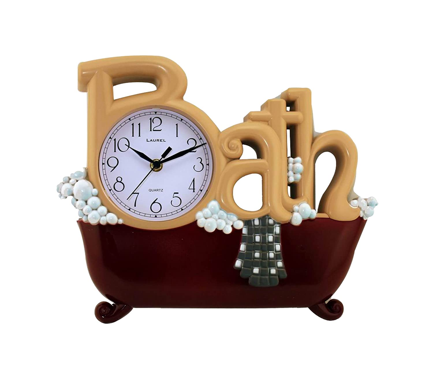 New Haven 1572BD-REMAIL Bath Clock