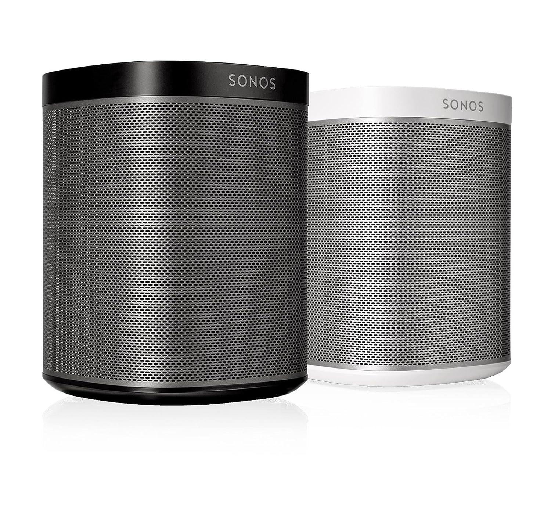 Tidsmæssigt Amazon.com: SONOS PLAY:1 2-Room Streaming Music Starter Set Bundle HJ-41