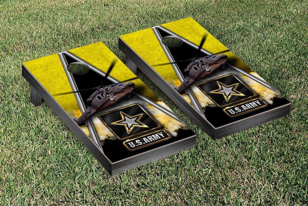 US Army Blackhawk Regulation Cornhole Game Set Triangle Version