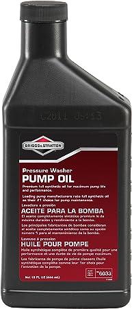 Briggs & Stratton 603375W90 Pressure Washer Pump Oil