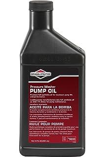 Amazon Com Briggs Stratton Synthetic Pressure Washer Pump Oil