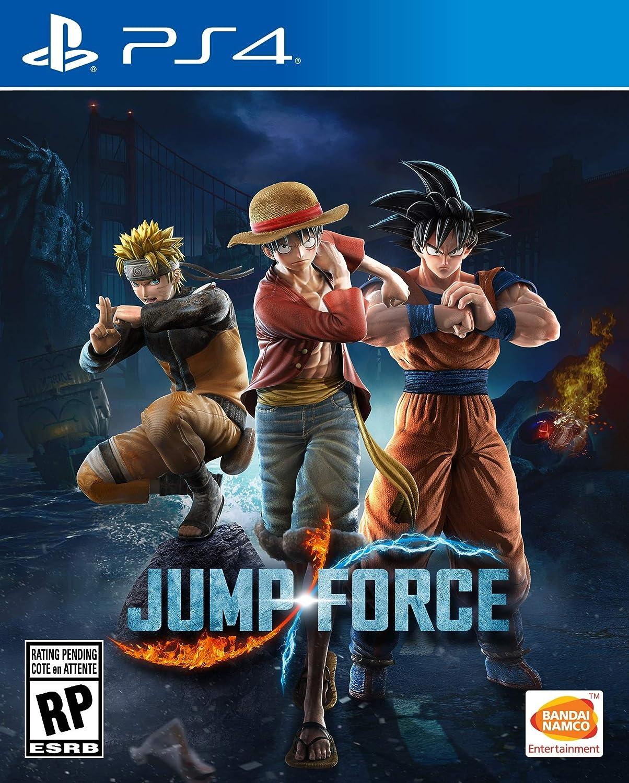 Jump Force Standard Edition Playstation 4 Namco Ps4 Naruto To Boruto Shinobi Striker Deluxe Region 3 English Video Games