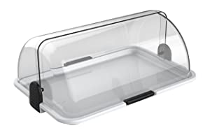 Cuisinox DISL178 Polybox Countertop Bakery Display Case White