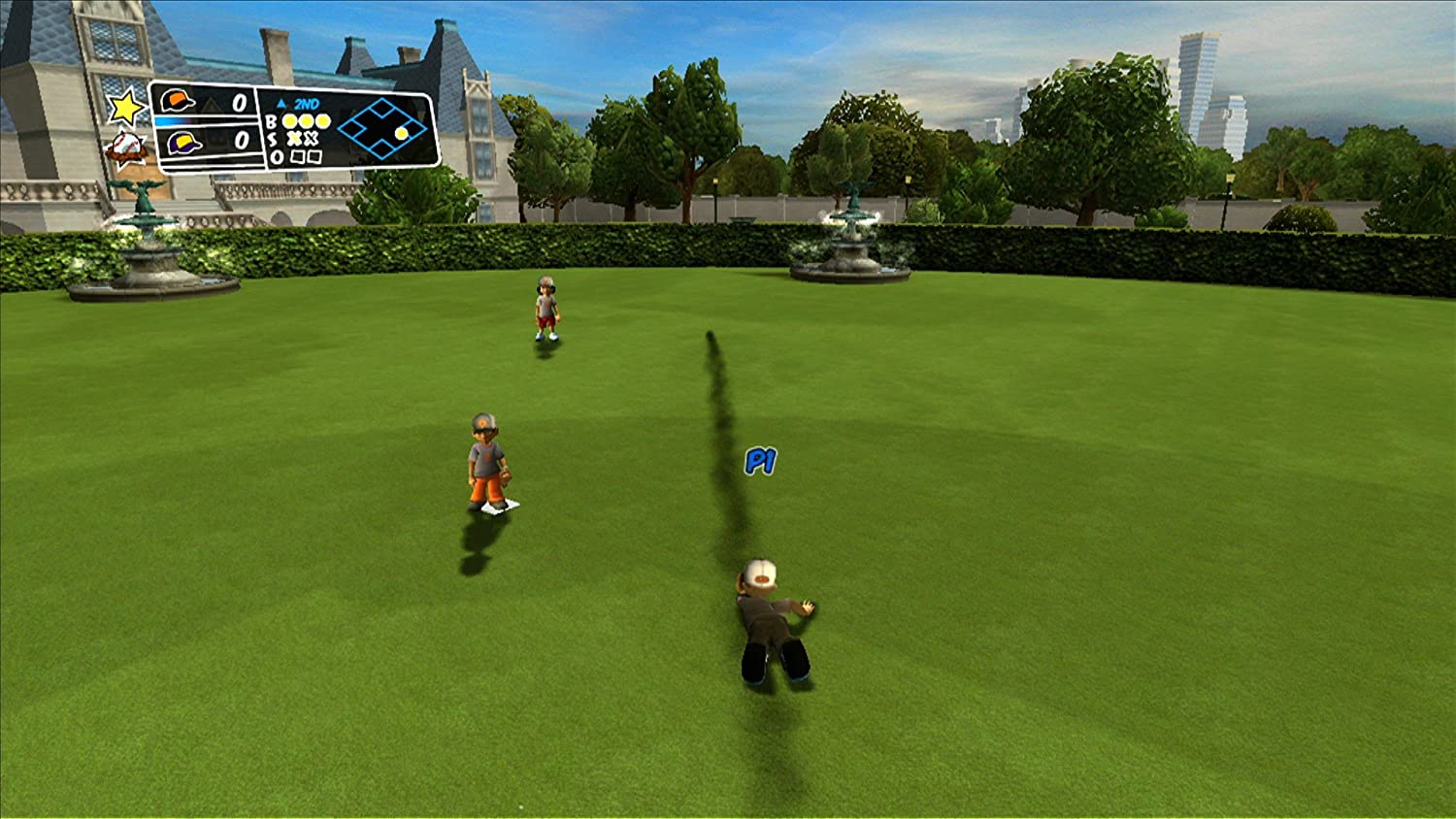 backyard sports sandlot sluggers wii standard edition wii