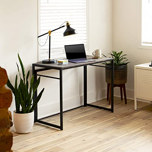 Flash Furniture Rustic Home Office Folding Computer Desk