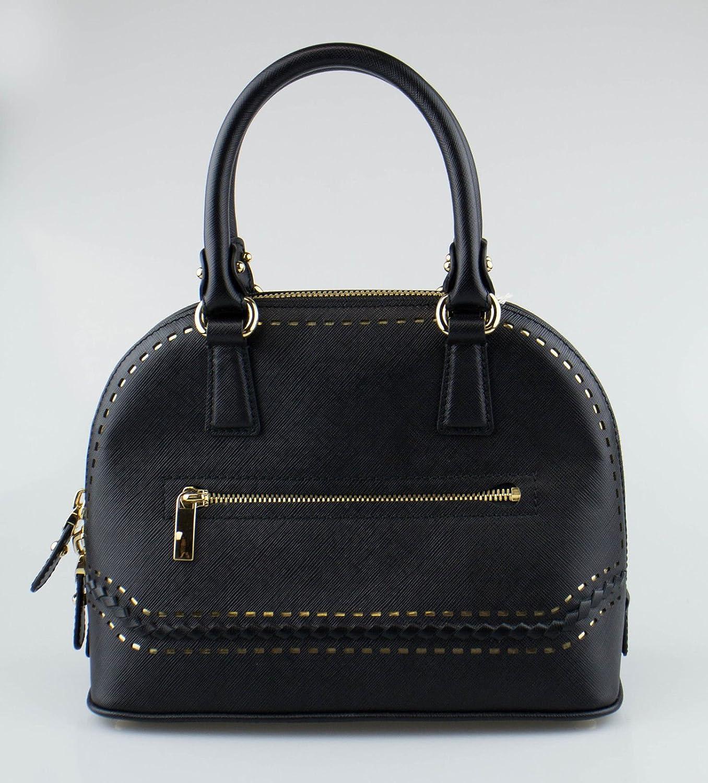 8660ca7de505 Amazon.com   SALVATORE FERRAGAMO Black Leather Darina Handbag   Baby