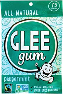 product image for Glee Gum Chewing Gum - Peppermint - 75 Count - Case of 6