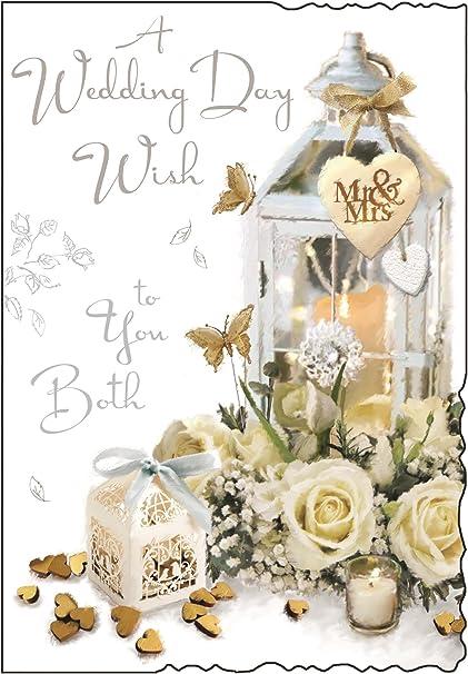 Tarjeta de felicitación (jj8625) – boda – wedding Day Wish – Farol ...