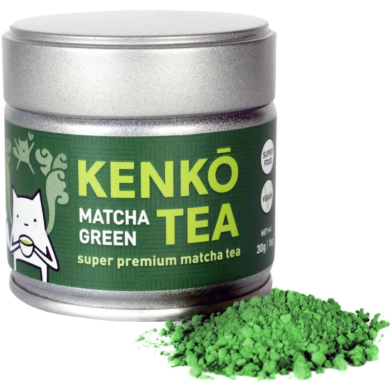 KENKO - Ceremonial Grade Matcha Green Tea Powder - 1st Harvest - Special Drinking Blend for Top Flavor - Best Tasting Premium Matcha Tea Powder - Japanese -30g [1oz] by Kenko Tea