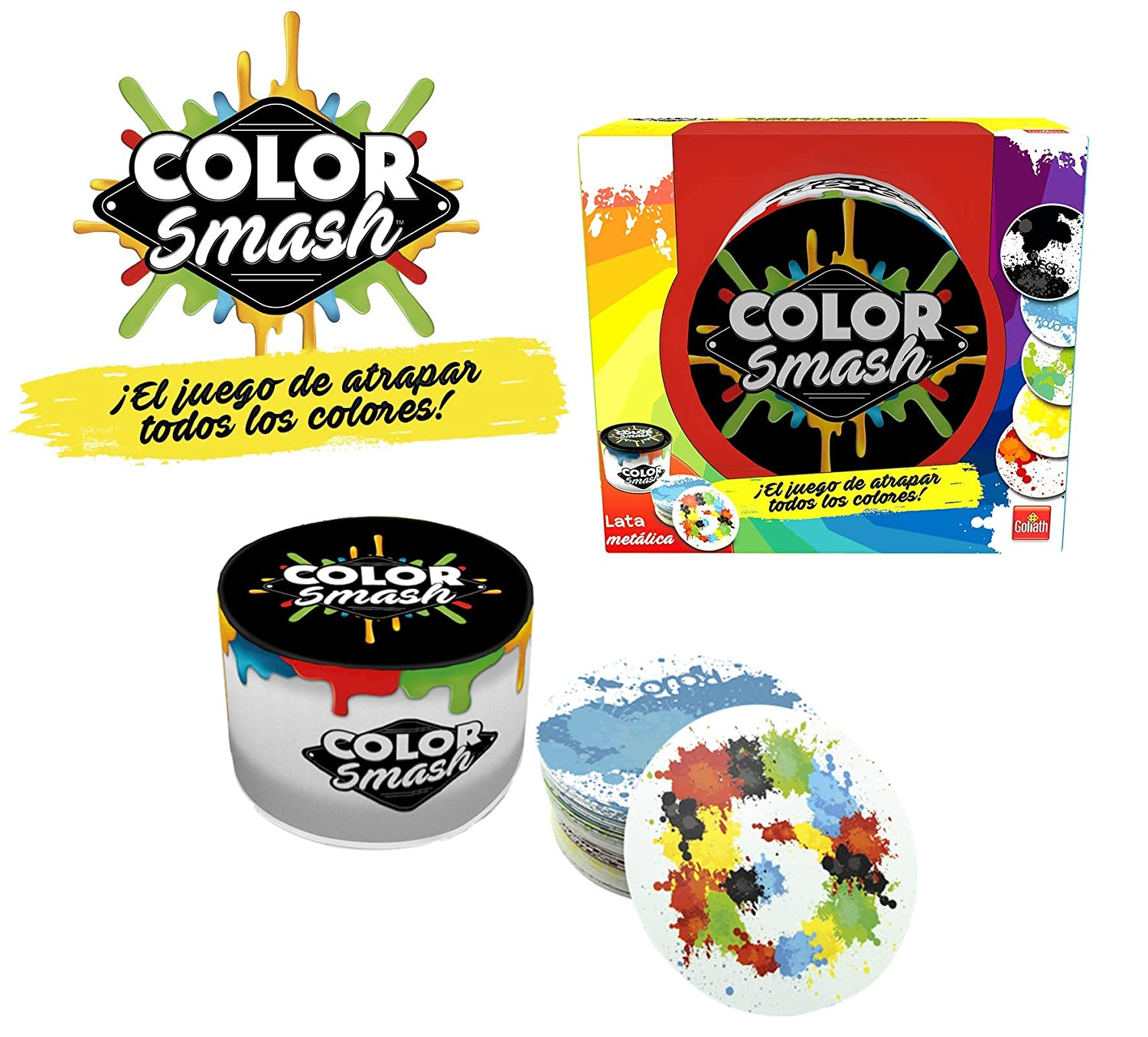 Color Smash - Juego de Cartas (Goliath 70474)