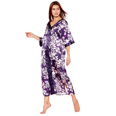 Debenhams The Collection Womens Purple Floral Print  Mystry  Satin ... 4c9001229