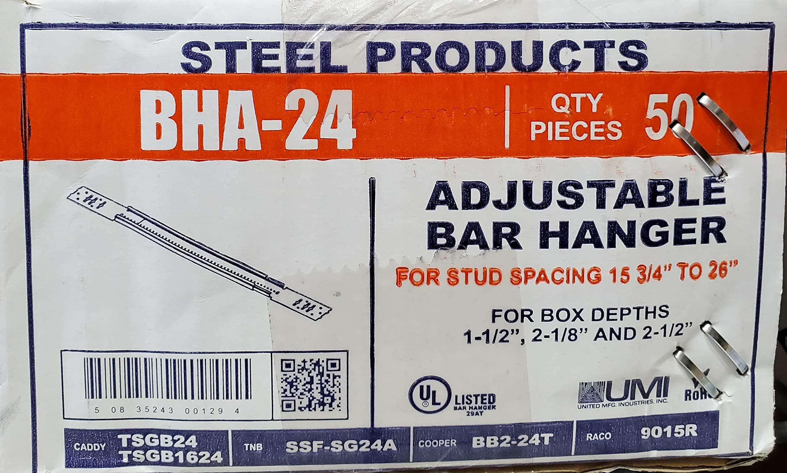 (50 Pack) Orbit BHA -24 Adjustable Box Bracket