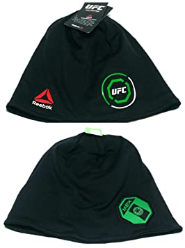dc2004dba22 UFC Reebok Performance Training Dri Toque UnCuffed Green Black Mexico Beanie  Hat Cap