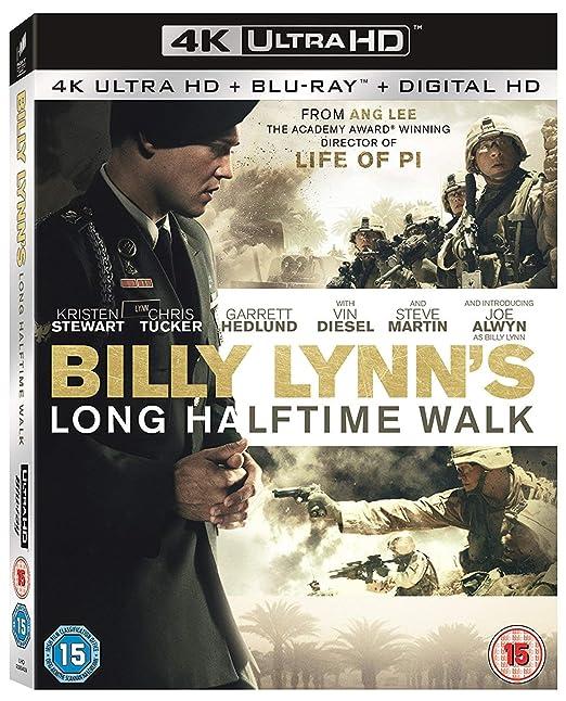 Billy Lynns Long Halftime Walk 4K UHD Blu Ray Digital HD